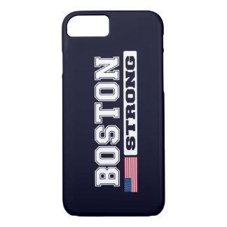 Caso FORTE do iPhone 7 da bandeira de BOSTON E.U. Capa iPhone 8/7