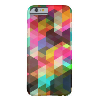 Caso geométrico abstrato do iPhone 6 Capa Barely There Para iPhone 6