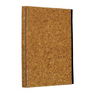 caso in-folio do iPad - madeiras - cortiça