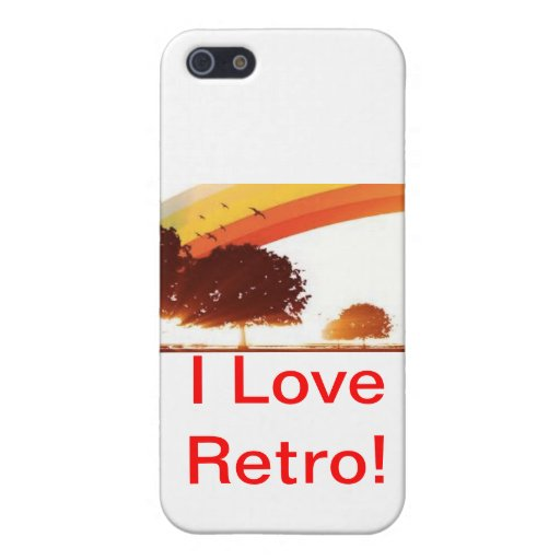 Caso IPHONE5 retro iPhone 5 Capas