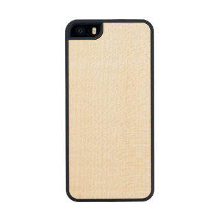 Caso magro de madeira do iPhone 5/5s Capa De Madeira Para iPhone SE/5/5s