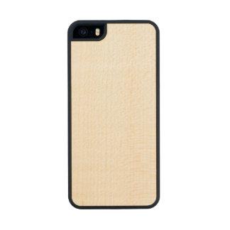 Caso magro de madeira do iPhone 5/5s Capa De Madeira Para iPhone SE/5/5s