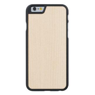 Caso magro de madeira do iPhone 6/6s