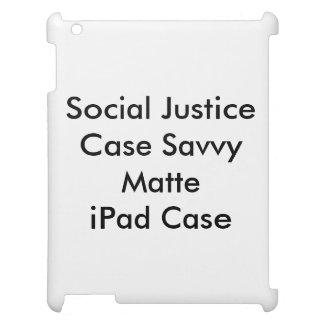 Caso Matte esclarecido do iPad do caso de justiça Capas Para iPad