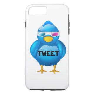 Caso positivo de Iphone 7 do Tweet Capa iPhone 8 Plus/7 Plus
