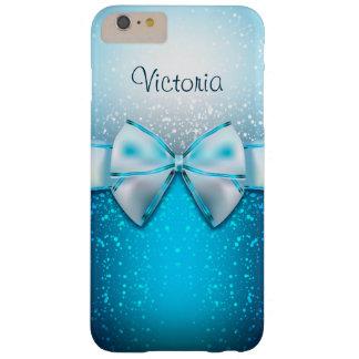 Caso positivo do iPhone 6 azuis femininos do Capa Barely There Para iPhone 6 Plus