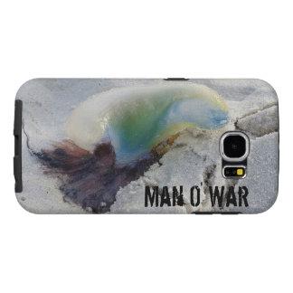 Caso resistente da guerra S6 de O do homem Capas Samsung Galaxy S6