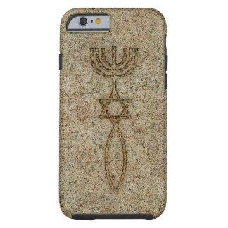 Caso resistente do caso messiânico do iPhone 6 da Capa Tough Para iPhone 6