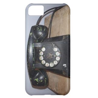 Caso retro de Iphone 5 do telefone Capa iphone5C