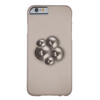 Caso retro do iPhone 6 dos auto-falante da música Capa Barely There Para iPhone 6