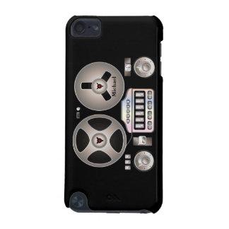 Caso retro do ipod touch 5 de Magnetophon do grava Capa Para iPod Touch 5G