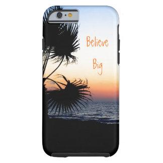 Caso temático do iPhone 6 da praia Capa Tough Para iPhone 6