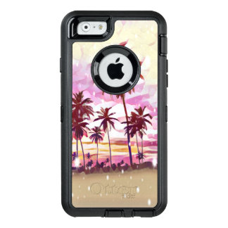 Caso tropical do iPhone 6/6s Otterbox do paraíso