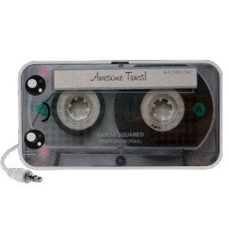 Cassete de banda magnética bonito de Kawaii Caixinhas De Som Portátil
