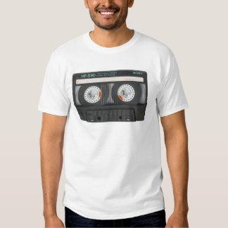 Cassete de banda magnética camiseta
