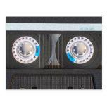 Cassete de banda magnética cartoes postais