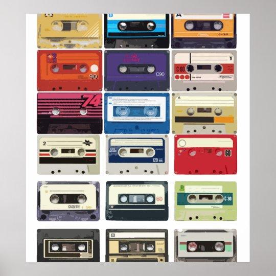Cassettes Póster