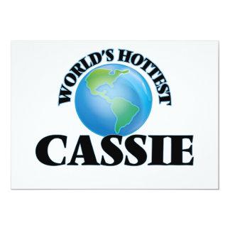 Cassie a mais quente do mundo convite