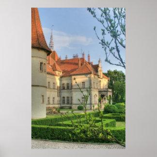 Castelo Carpathian Pôster