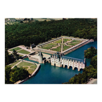 Castelo Chenonceaux de France, Loire Poster