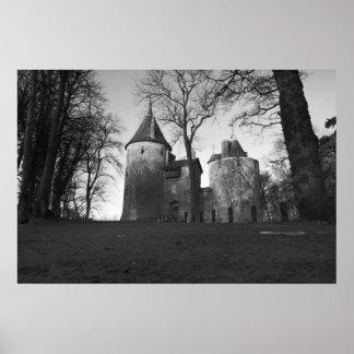 Castelo Coch, Wales Poster