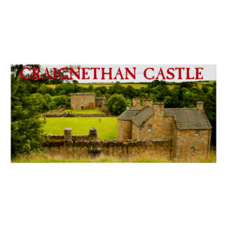 castelo craignethan poster