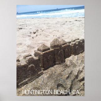 Castelo da areia impressão