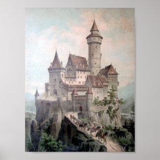Castelo da fantasia pôsteres