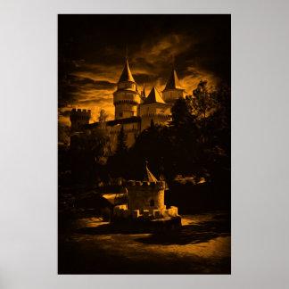 Castelo da fantasia impressão