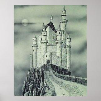 Castelo da montanha pôster