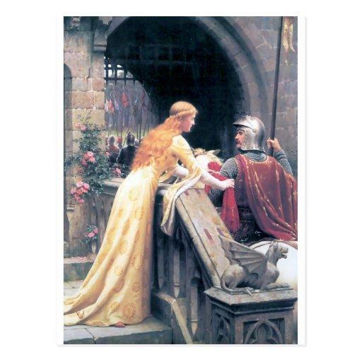 Castelo da senhora e do cavaleiro cartao postal