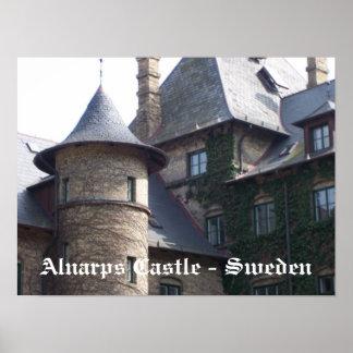 Castelo de Alnarps - suecia Pôsteres