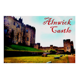 castelo de Alnwick Posters