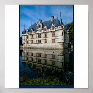 Castelo de Azay-le-Rideau Poster