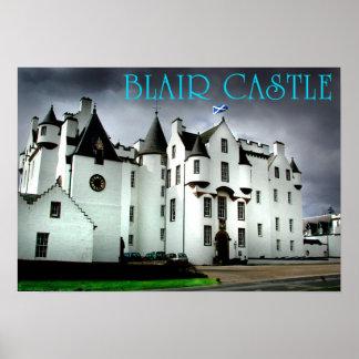 castelo de Blair Poster