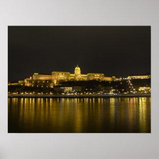 Castelo de Buda Poster