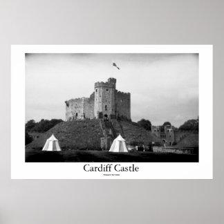 Castelo de Cardiff Poster