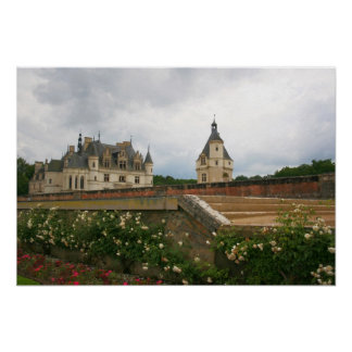 Castelo de Chenonceau Pôster