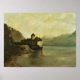 Castelo de Chillon, 1874 Poster
