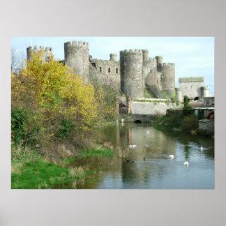 Castelo de Conwy Pôster