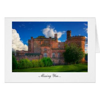 Castelo de Dalhousie, Midlothian - faltando o Cartões