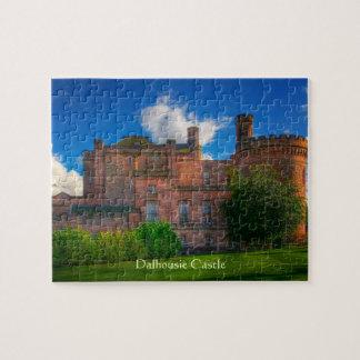 Castelo de Dalhousie, Midlothian, Scotland Quebra-cabeças De Fotos