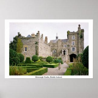 Castelo de Drimnagh, Dublin Ireland Poster