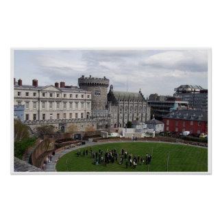 Castelo de Dublin: Cidade Ireland de Dublin Poster