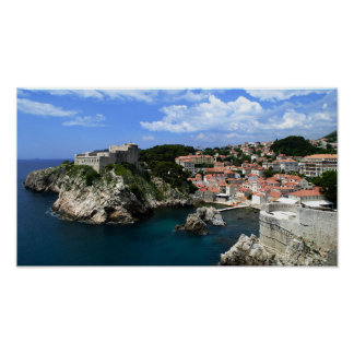 Castelo de Dubrovnik Pôster