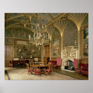 Castelo de Eastnor, Herefordshire: o desenho Impressão