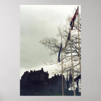 Castelo de Edimburgo Impressão