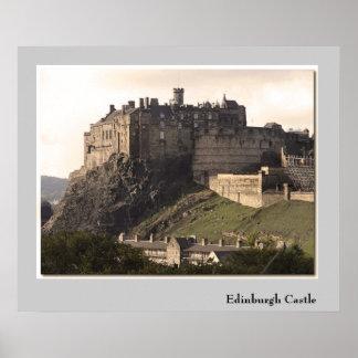 Castelo de Edimburgo Pôster