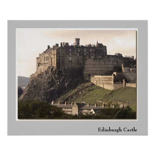 Castelo de Edimburgo Poster