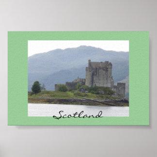 Castelo de Eileen Donan, Scotland Poster